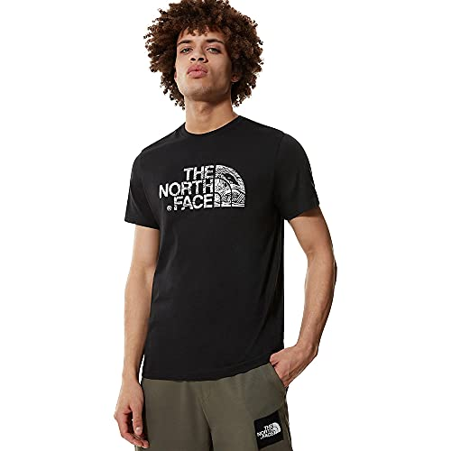 The North Face M S/S Wood Dome T-Shirt, Uomo, TNF Black, XL