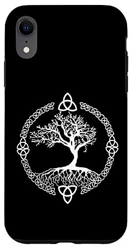 iPhone XR Tree of Life Yggdrasill Celtic Knot Case