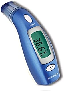 Microlife IFR 100 Oído Contact digital body thermometer - Termómetro (LCD, 1 pieza(s))