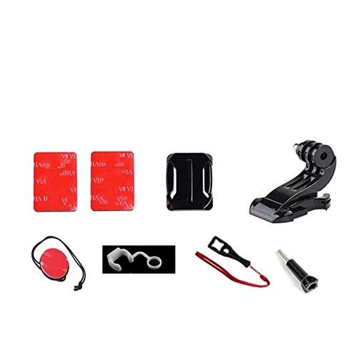 DAXINIU Casco Accesorios cámara Casco de la Motocicleta del Soporte de Bicicletas...