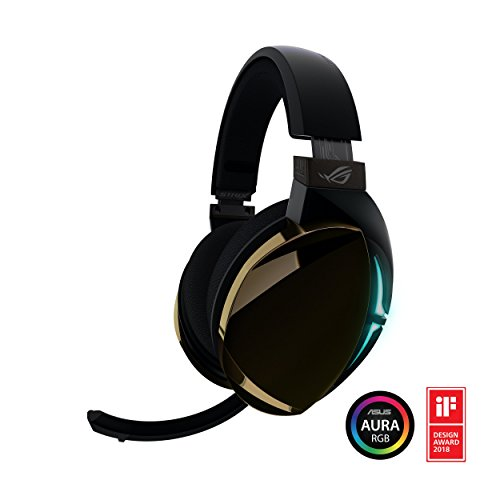 ROG Strix Fusion 500 Virtual 7.1 LED Gaming Headset with Hi-Fi Grade ESS DAC, ESS Amplifier, Digital Microphone and Aura Sync RGB Lighting (Renewed)