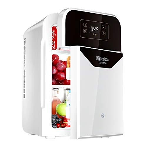 22L Mini-Kühlschrank   Kühlung & Heizung Kühlschrank   Dual-Use-Auto DC 12V / 220V Wechselstrom   Kompakt, tragbar und leise (Blau, Silber, Gold)