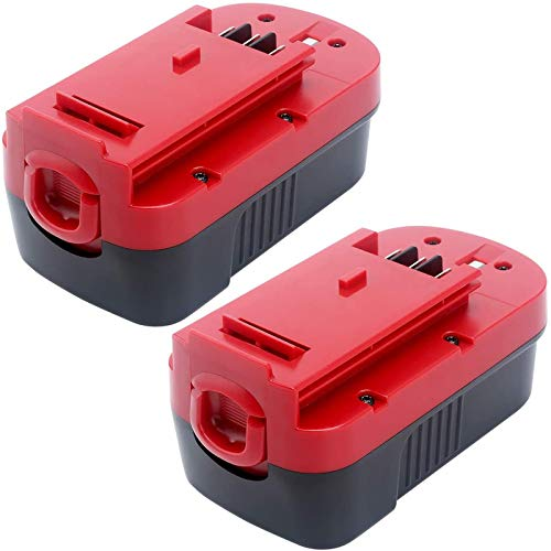 [Upgraded to 4.5Ah] HPB18 Replacement Battery for Black and Decker 18V Battery Ni-Mh Compatible with HPB18 HPB18-OPE 244760-00 A1718 FS18FL FSB18 Firestorm 18 Volt Cordless Power Tools 2-Pack