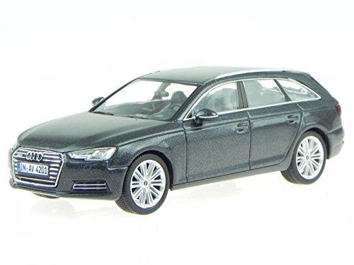 Audi A4 B9 Avant 2015 daytona grau Modellauto Spark 1:43