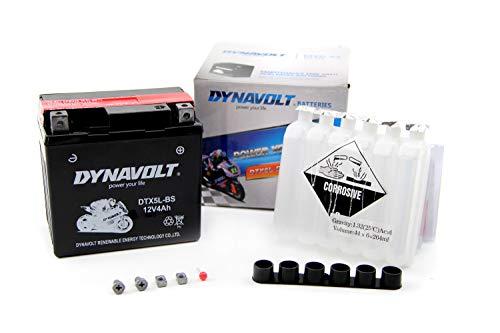 Dynavolt Batterie YTX5L-BS / DTX5L-BS 12V 4Ah inkl.7,50EUR Pfand