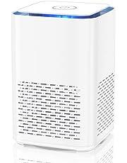 Duomishu Luchtreiniger voor Home w HEPA-filter, SY-702 100% Geen Ozon Ionizer Purifier+Geurverspreider Effecten Filtratie 99,97% Stof, Bacteriën, Rook, Stuifmeel, Huisdier Dander, Koken geur Energie Klasse A