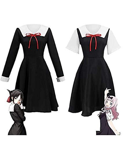 Anime Kaguya-sama Love Is War Cosplay Kostüm Kaguya Chika Cosplay Kostüm,anime Cosplay Kleid,anime Japanische Schuluniform Frauen Sommerkleid Und Perücken, Anime Mädchen Matrosen Uniformen Kleid