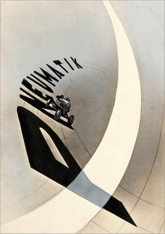 Posterlounge Leinwandbild 50 x 70 cm  Pneumatik von László Moholy-Nagy - fertiges Wandbild, Bild auf Keilrahmen, Fertigbild auf echter Leinwand, Leinwanddruck