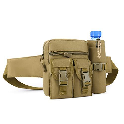 Bolsa de cintura HJBH Impermeable Oxford Paño de montar Hervidor Hervidor Sencillo kit de múltiples funciones Bolsa de viaje Cofre Hombres y mujeres Equipo al aire libre Hervidor de basura extraíble (