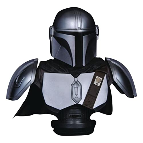 DIAMOND SELECT TOYS Star Wars: The Mandalorian MK IV Legends in 3-Dimensions 1:2 Scale Bust