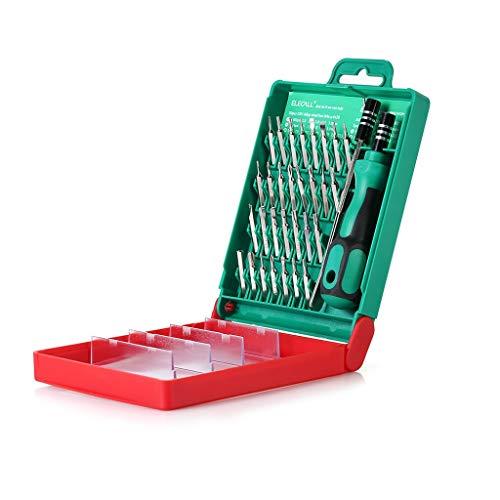 YWSZJ Multifunción 33 en 1 Destornillador magnético Conjunto de Herramientas de bits de Tornillo electrónico para Reparar