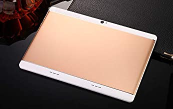 $63 Get OUYAWEI 10.1'' IPS High-Definition Screen Tablet PC Android Quad Core 4+64GB HD WiFi 3G Phablet Rose Gold US Plug