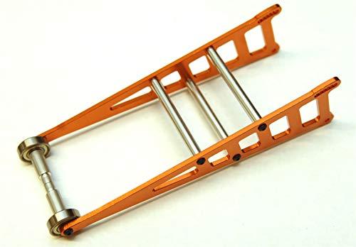 ST Racing Concepts ST3678WO Orange CNC Machined Aluminum Adjustable Wheelie Bar Kit for Slash 2WD LCG, Rustler, Bandit