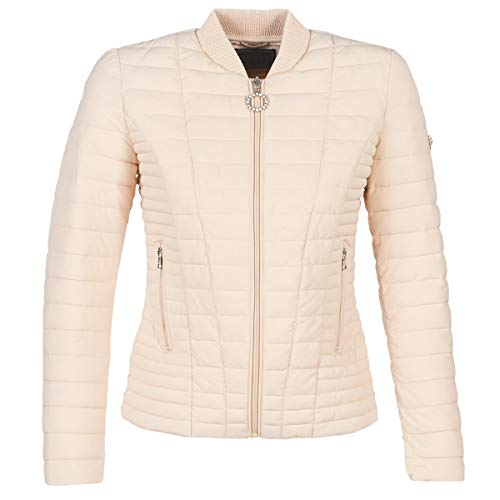 GUESS Vera Jacket Abrigos Femmes Beige - XL - Plumas