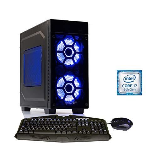 Hyrican Striker 6444 blue i7-9700F 16GB/1TB 480GB SSD RTX 2080 SUPER Win10