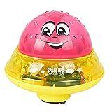 El agua de aspersión bebé de juguete de inducción eléctrica de agua automático de extinción de incendios de la bola de la lámpara del juego de niños Juego del water polo de agua (colores aleatorios)