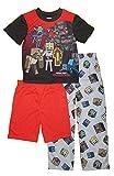 Minecraft Boys' 3-Piece Pajama Set, Mean Ones 3, 6