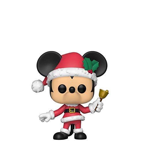 Funko- Pop Figura in Vinile Disney: Holiday-Mickey Collezione, Multicolore, 43327
