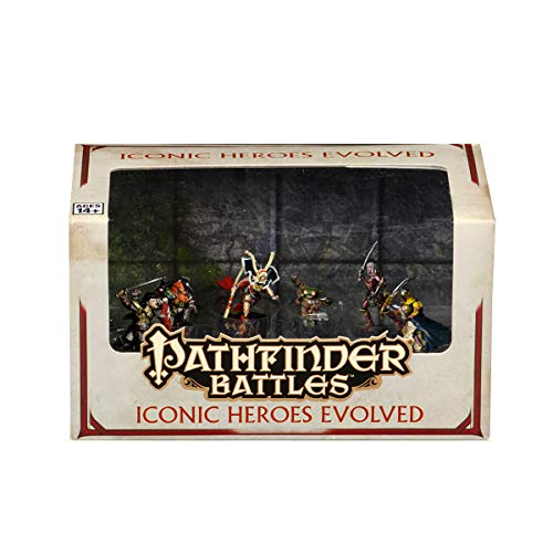WizKids Pathfinder Battles: Iconic Heroes Evolved (WK73146)