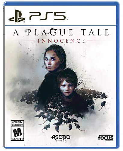 A Plague Tale: Innocence PS5 $39.99 Physical Boxed Game Currently also on PS+, July Amazon …