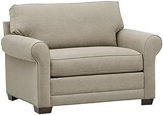 Stone & Beam Kristin Chair-and-a-Half Upholstered Sleeper Sofa, 55.5