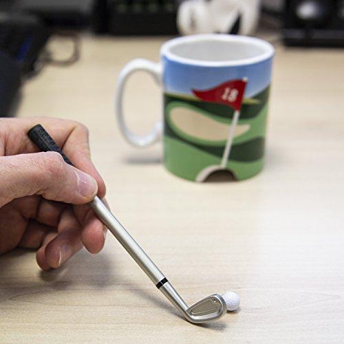 LONGRIDGE Golftasse und Mini-Putter, Weiß - 5