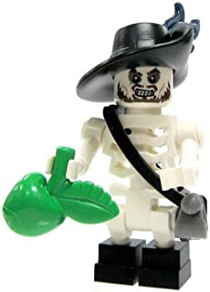 LEGO Minifigure - Pirates of The Caribbean - Skeleton Hector BARBOSSA