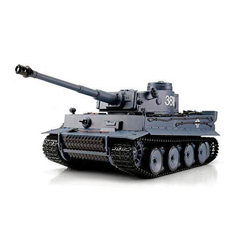 Torro 1:16 RC Panzer Tiger I grau BB 2.4GHz