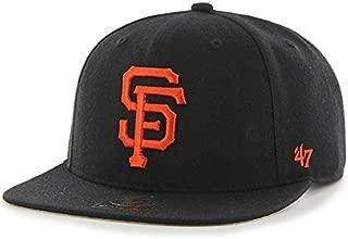 '47 Brand Sure Shot Adjustable Cap - MLB, Structured Flat Bill Baseball Hat