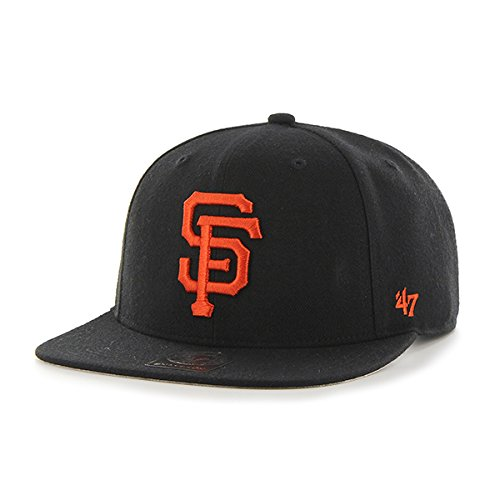47 MLB San Francisco Giants Sure Shot Captain Casquette de Baseball, Noir, Taille Unique Unisexe