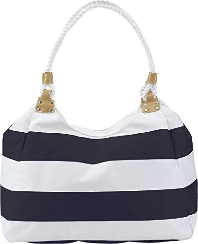 Strandtasche Badetasche aus 600D Polyester Zwei Lange Schultergurte im Kordeldesign