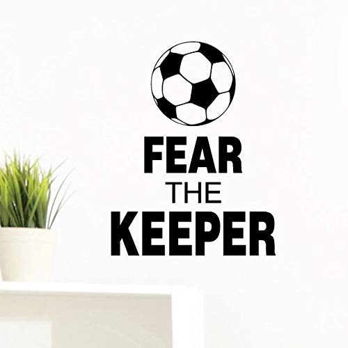 Wall Quotes Fear The Keeper Vinyl Wall Decal Soccer Sports...