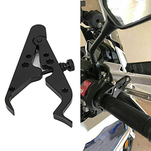 ROMACK Control de Crucero de Motocicleta, Seguro y confiable Cerradura de Agarre de muñeca de Goma de aleación de Aluminio para Motocicleta