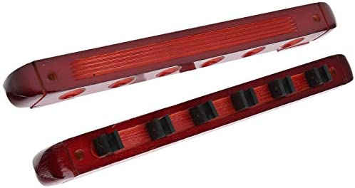 Pool Sticks Rack Simple Save Space Houten poolstokkenhouder voor biljart