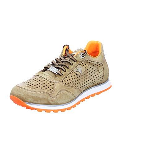 Cetti Herren Sneaker Trendiger Sneaker in Braun C-848 Cuero ORANGE braun 827195