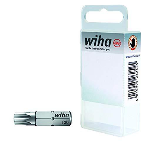 """Wiha Bit Set Standard 25 mm TORX® (T20) 2-tlg. 1/4\"""" in Box (08423)"""