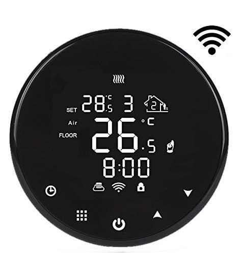 AVStar - Termostato Inteligente programable para calefacción de calderas de Gas - Pantalla LCD para Facilidad de Control y programación (WiFi)
