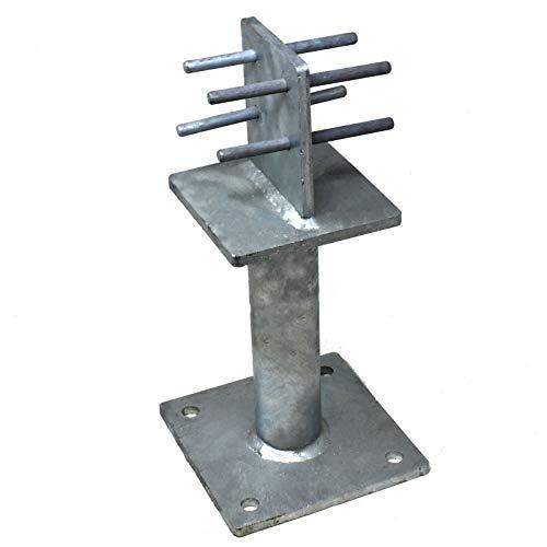 Simpson Strong-Tie ® PBH75 Heavy Duty POST ZINCATO BASE C//W tasselli in metallo
