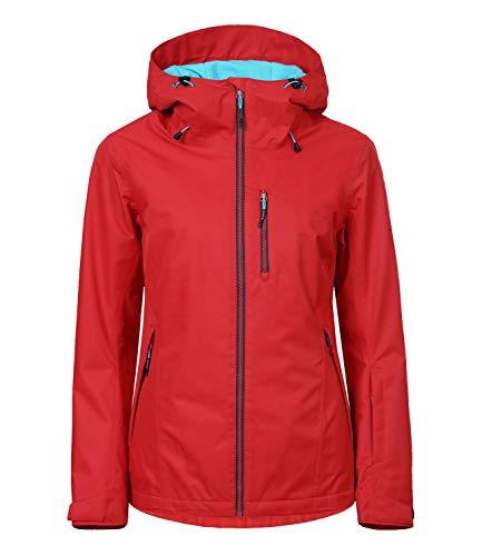 Icepeak Damen Skijacke Winterjacke Kira 2-53 226 659, Farbe:Rot, Größe:36, Artikel:-651 Classic red