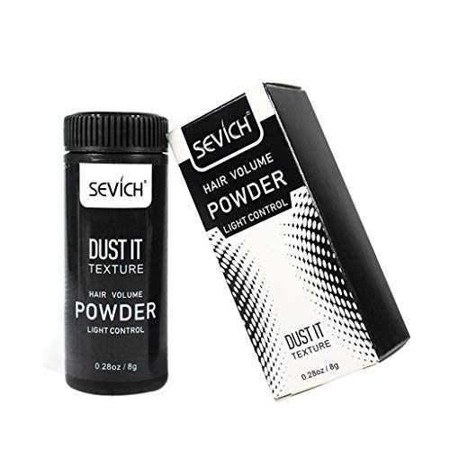 DUST IT Mattifying Powder, Volumizing Matte Styling Texturizing Hair Powder for Men, Volumizing Style Powder, Hair Volumizing Styling Powder - No Mess, Matting, or Clumping, 0.35-Ounce Shaker Bottle