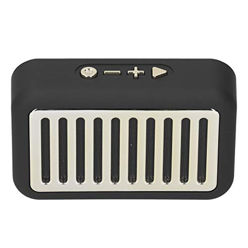 214 Altavoz BT, Altavoz estéreo inalámbrico Bluetooth V5.0 + EDR para computadora, Altavoces portátiles para Exteriores con función de Radio FM, Tarjeta de Memoria de Soporte, para teléfono/Tablet PC