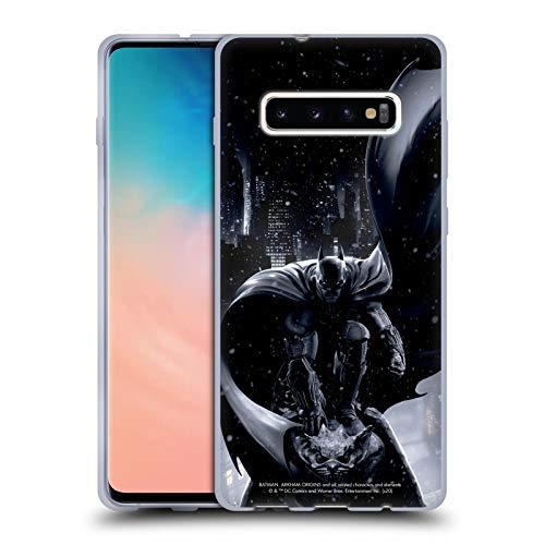 Head Case Designs sous Licence Officielle Batman Arkham Origins Batman Art Clé Coque en Gel Doux Compatible avec Samsung Galaxy S10+ / S10 Plus