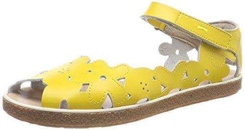 CAMPER Mädchen TWS Knöchelriemchen Sandalen, Gelb (Medium Yellow 720), 33 EU