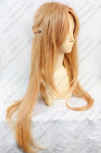 Sword Art Online Asuna / Yuki tomorrow Nana (Yuuki Asuna) cosplay wig + wig net (japan import)