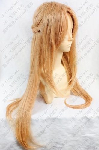 Sword Art Online Asuna / Yuki tomorrow Nana (Yuuki Asuna) cosplay wig + wig net (japan import)
