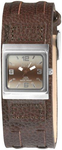 Just Watches 48-S9237L-LBR - Orologio da polso da donna, cinturino in pelle colore marrone