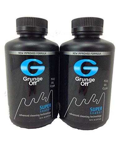 2 Bottles Grunge Off Super Soaker Orange Scented Pipe Cleaner 16oz Liquid