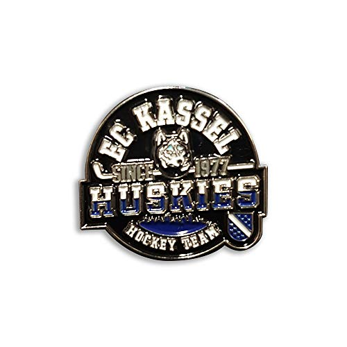 SPORTSMA Kassel Huskies Button Anstecker Pin Ansteckpin Eishockey Fanartikel