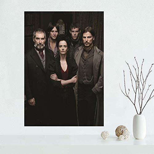 QAQTAT Penny Dreadful TV-Serie Poster Leinwand Gemälde HD-Druck Wandkunst Bilder Office Bar Wandbild Home Decor 40 * 60cm (kein Rahmen)