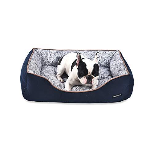 AmazonBasics Cuddler, Cuccia per animali domestici - Taglia S, stampa floreale